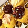 hens cupcakes